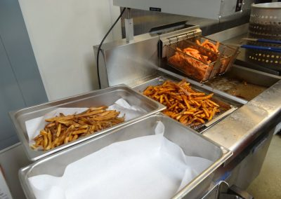 St. Patrick's Day 2017 Fish Fry - French Fries and Sweet Potato Fries