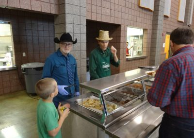 St. Patrick's Day 2017 Fish Fry - Serving