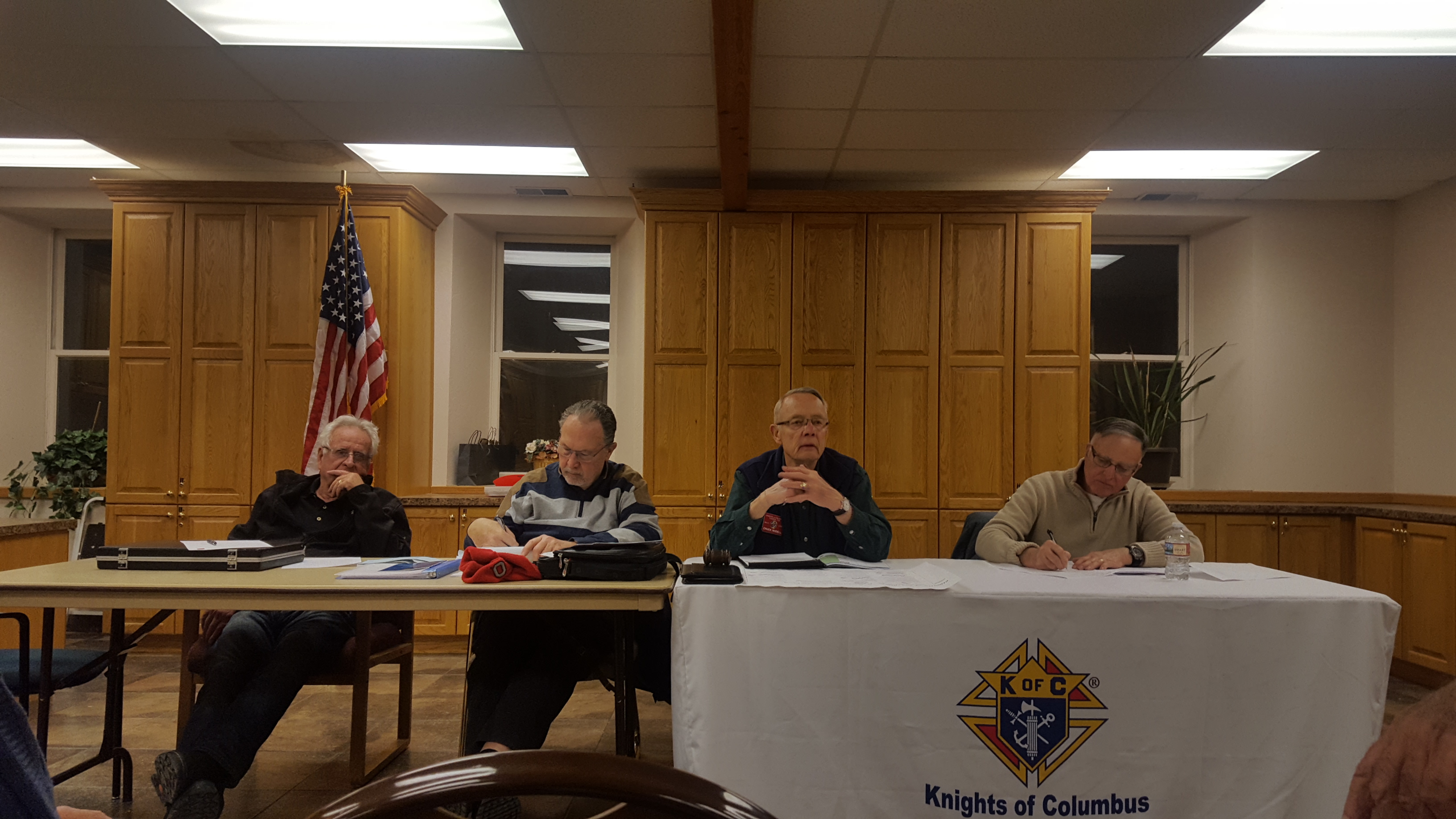 Knights of Columbus 1129 Officers