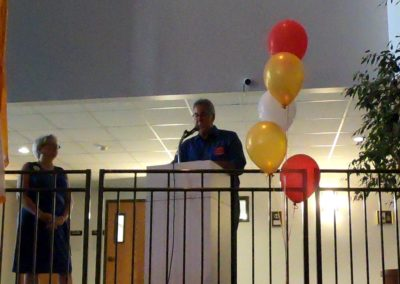 Fr. Stan's Retirement Party - Deacon Tom Speaking